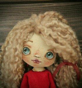 Авторские текстильные куклы для души и в подарок