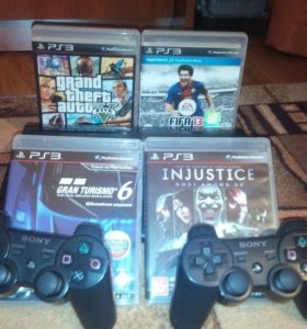 Sony PlayStation 3 Super Slim 500GB + 4 игры