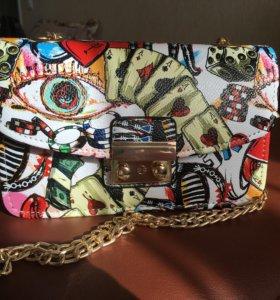 Новая яркая сумочка (экокожа)