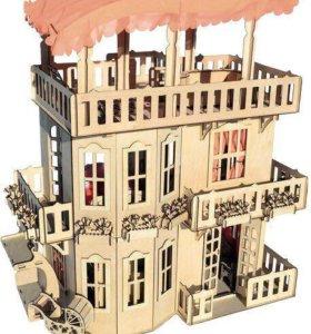 Чудо-дом для кукол Barbie, Monster High и Winx