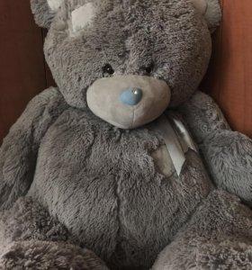 Мягкий, большой медведь Тедди