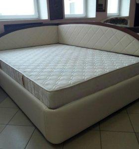 Кровать Атриия 140х200 Тинто правая