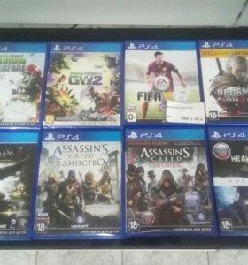 Игровые диски PS4