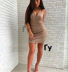 Платье 👗 цвет пудра!