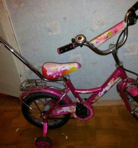 Велосипед от 3-5,6 лет и ролики