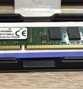 Оперативная память DDR-3 Kingston 4GB 10600