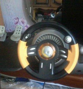 продам игровой руль Genius Speed Wheel 3 MT