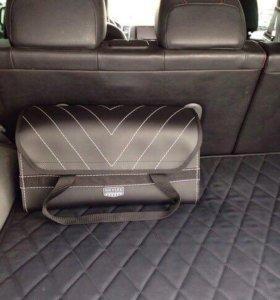 Практичная сумка-органайзер в багажник
