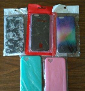 Чехлы Iphone 6 (6s) новые