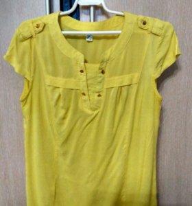 Блузка-рубашка летняя