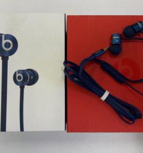 Новые наушники Beats urBeats (2012) blue