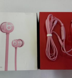 Новые наушники Beats urBeats (2012) pink