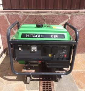 Бензогенератор Hitachi Е24