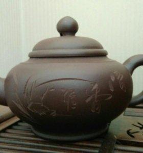 Чайник китайский глиняный