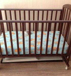 Кроватка Папалони Джованни, как новая!!!