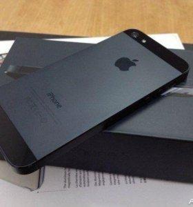 iPhone 5 Black 16Gb полный комплект