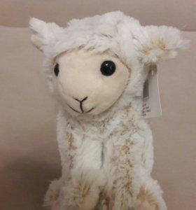 Мягкая игрушка овечка новая