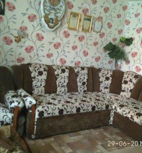 Продам диван-кровать с креслом