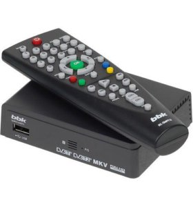 Ресивер цифровой телевизионный BBK SMP-001HDT2