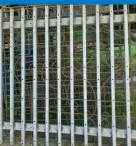 Забор (оцинкованный).
