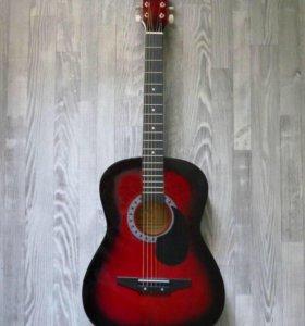 Новая 6-тиструнная акустическая гитара