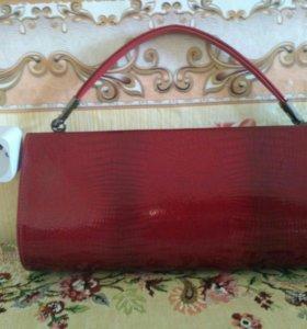 Кожанная сумочка.