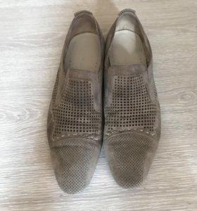 Ботинки мужские (нат замша и кожа)