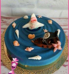 Капкейки, торты и печенье на заказ