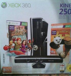 Продам Xbox 360 + Kinect(250GB)