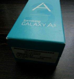 Коробка самсунг А3