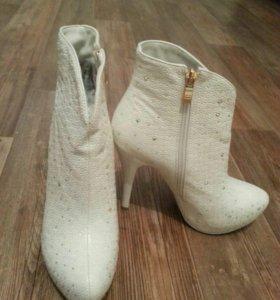 Ботильоны, полусапожки женские, ботинки