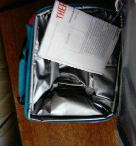 Термо сумка новая с этикетками