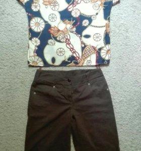 Комплект шорты+блуза