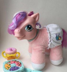 Игрушка мягкая пони малыш my little pony
