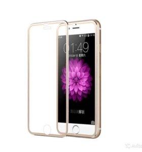 Защитное стекло iPhone 6 Plus 3D