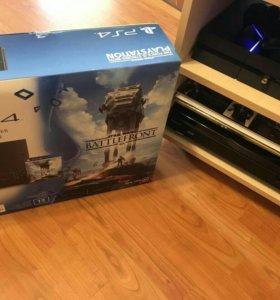 Sony PlayStation 4 1 тб (SW Bundle) + 4 диска