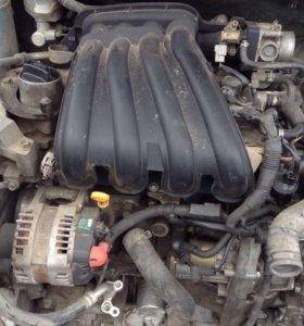 Двигатель Ниссан Тиида 1,5 л. HR15