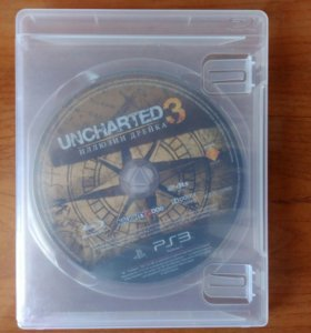 Диск ps3 Uncharted 3