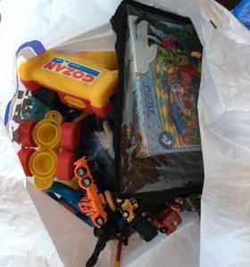 Пакет детских игрушек бу бесплатно