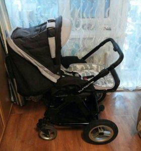 Коляска детская Jetem 2 в 1 + детская автолюлька