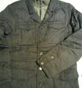 Куртка- пиджак на пуху новая