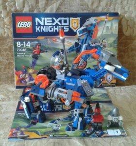 Лего NexoKnights-Ланс и его механический конь