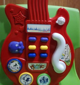 Гитара музыкальная детская