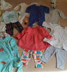 Одежда Next на девочку от 0-9 месяцев