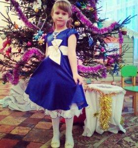 Платье+шубка для принцессы