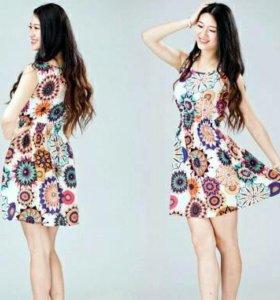 Платье-сарафан XXL
