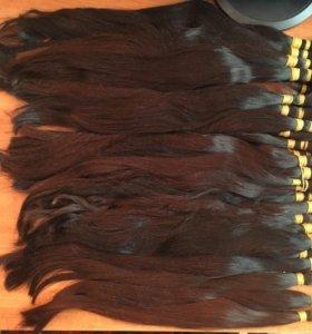 натуральные срезы волос