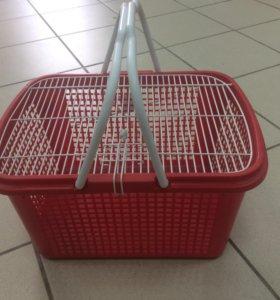 Переноска-корзинка для кошек