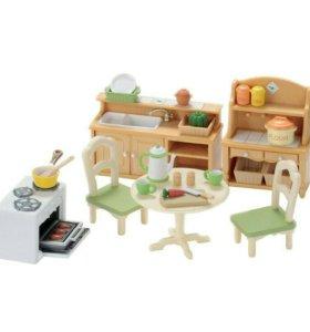 Набор Sylvanian Families «Кухня в коттедже»
