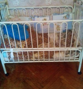 Детская кровать трансформер от 0-7 лет